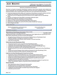 Executive Assistant Resume Objective Sample Executive Assistant Resume Resumes Summary Statement For 62