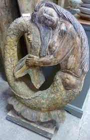 mermaid statue wells reclamation