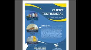 carpet cleaning flyer commercial carpet cleaning testimonial flyer youtube