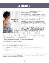 How To Develop A Birth Plan Preparing For Birth Instructors Guide Download