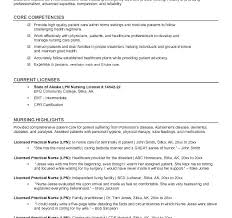 Lvn Resume Objective Stunning New Lvn Resume Sample Nurse Samples Examples For Resumes Nursing