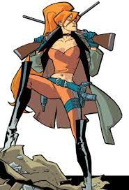 Elsa Bloodstone (Ulysses' daughter, Monster Hunter)