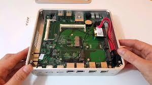 <b>Intel</b> i5 5257U Iris 6100 Fanless $293 <b>Barebones Mini PC</b> Unboxing ...