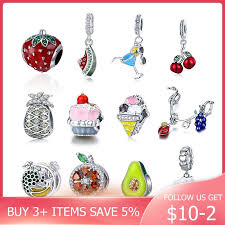 <b>Strollgirl 100</b>%<b>925</b> sterling silver pink sweet candy charm colorful ...