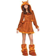 Sweet Fox Teen Halloween Costume One Size