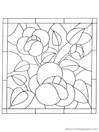 Small Picture Square Stained Glass Coloring pages Free Printable Coloring Pages