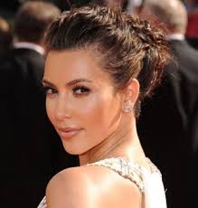 best kim kardashian makeup look 7 glowing bronze skin