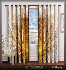 Small Picture Digital Print Home Decor Designer Curtain Sets Digital Print