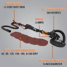 6369sp80 drywall sander 80 grit hook