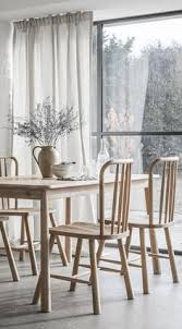 adame solid wood dining chair