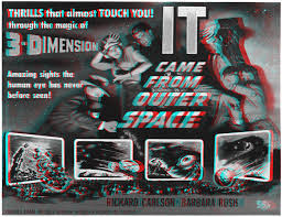 Image result for 3-d images from 1954 movie gorilla at large