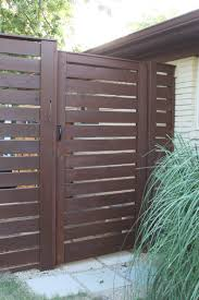 horizontal wood fence door. Finished Front Horizontal Slat Gate At The Cavender House Wood Fence Door O