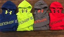 under armour youth hoodie. under armour boys\u0027 youth warrior full zip coldgear hoodie 1269831 s l xl 6
