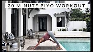 30 minute piyo workout you
