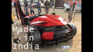 Car Designers In Bangalore Car Made In India Hyperion One Motormind Designs Bangalore