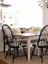 mismatched dining chairs design