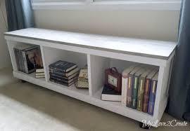 diy storage furniture. DIY Storage Bench - Cabinet Diy Furniture N