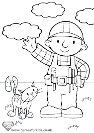 Small Picture Bob The Builder Coloring Pages 39 Bob The Builder Kids Coloring