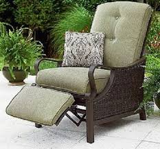 Chair Patio With Footrest Particular Rattan Lowes Cushions Plus