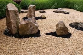 Zen Gardens Beautiful Zen Garden With Stones And Harmony Circles Around Them