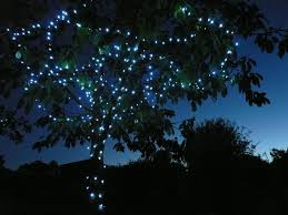 400 Led White Solar Garden Christmas String Fairy Lights Solar