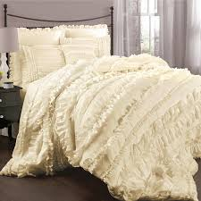 Lush Decor Belle Bedding Amazon Lush Decor Belle 100 Piece Comforter Set King Ivory 1