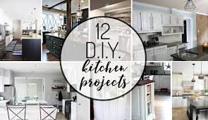 Diy kitchen projects Kitchen Decorating These 12 Diy Kitchen Projects Are Some Of The Best Have Seen Designer Trapped 12 Amazing Diy Kitchen Projects Kaleidoscope Living