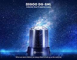 digoo dg snl amazing night light kids lamp sky star cosmos colorful laser projector lamp