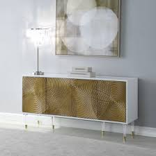 bellissimo buffet 321 in gold white