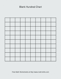 Blank 120 Chart Printable Judicious Blank Hundred Grid Blank Hundreds Board Free