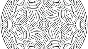 Geometric Coloring Sheets Printable Best Coloring Pages 2018