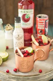serve this cranberry apple moscow mule at your parties this season and you ll always