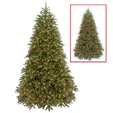 National Tree NonLit 712u0027 Kingswood Fir Hinged Pencil Kingswood Fir Pencil Christmas Tree