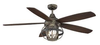 the advantages of using wrought iron ceiling fans