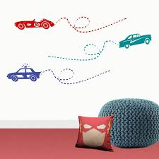 racing cars vinyl wall sticker maximize display all pictures