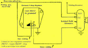 1962 1965 mopar technical tips and links wiring in 2 wire alternators and new style voltage regulators