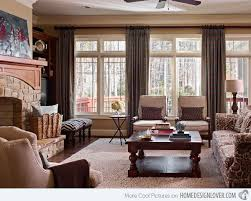 A Collection Of 16 Charming Living Room Curtains  Home Design LoverTraditional Living Room Curtains