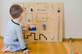toddler busy board a fantastic diy toy perfect for babies toddlers and preschoolers