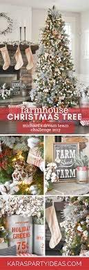 farmhouse christmas tree by kara s party ideas karaspartyideas