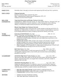 objective for resume college undergraduate high school resume  objective