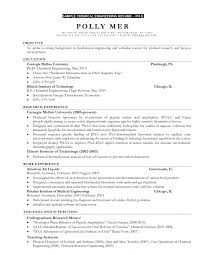Chemical Engineer Sample Resume 19 Resume Sample For Fresh