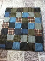 Tweed quilt with buttons | I'm going to sew that...eventually ... & Tweed quilt with buttons Adamdwight.com