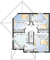 four square house plans. Four Square House Plan With A Twist - 21100DR Floor 2nd Plans F