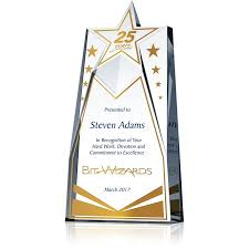 Years Of Service Award Wording Star Years Service Award Wording Sample By Crystal Central