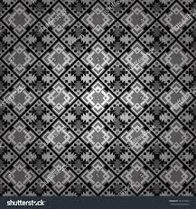 Seamless background. Vector illustration. Maximal element tiles geometric  seamless pattern in gray, black