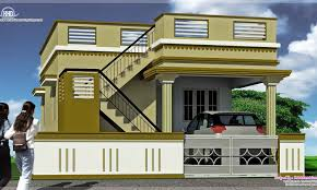 ground floor house front elevation design south indian house front