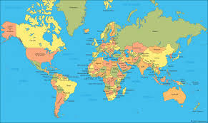 world map a clickable map of world countries )