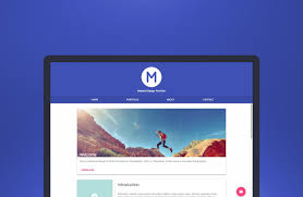 Material Design Template Download Freebie Material Design Portfolio Template Html Css And
