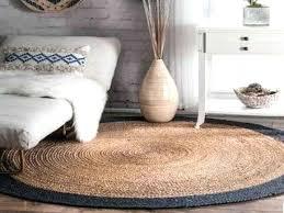 nuloom jute rug natural fiber braided reversible border jute round round rug nuloom jute rug 9x12