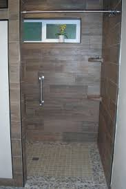 wood plank tile shower wood look tile shower floor